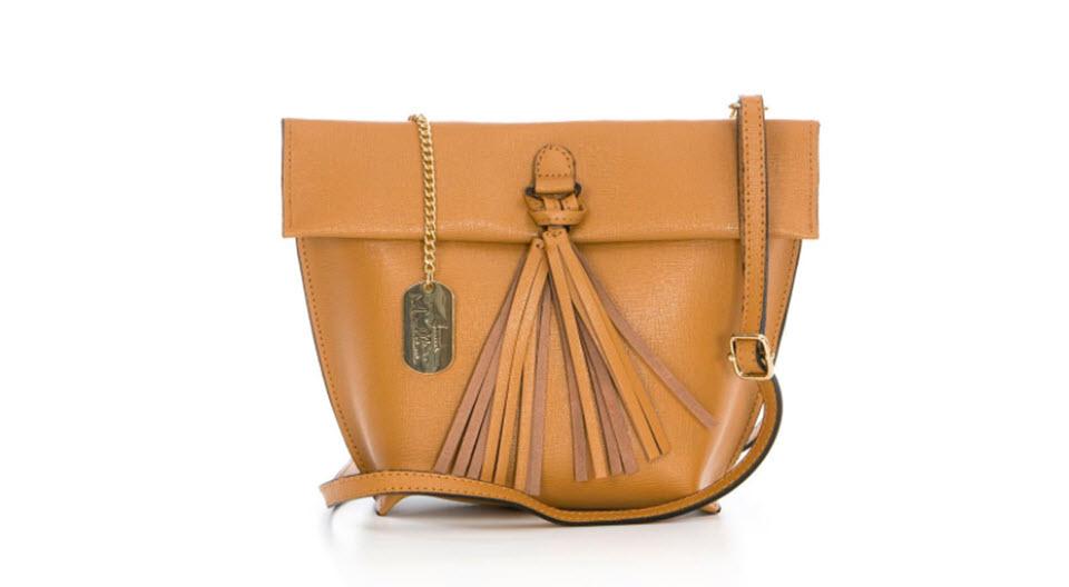 bolsos de piel camel