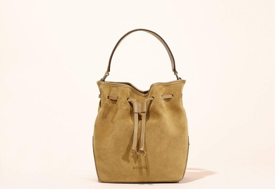 bolsos de piel color camel