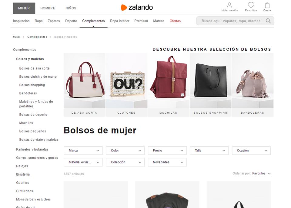 tiendas de bolsos online